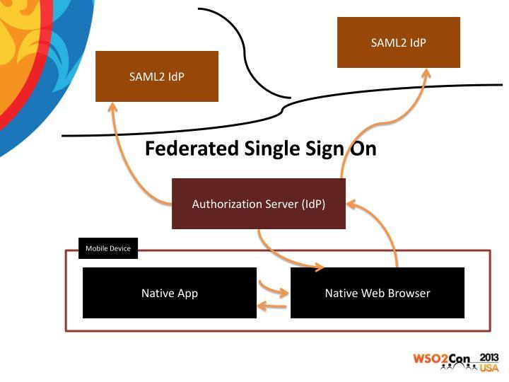 SAML2 IdP