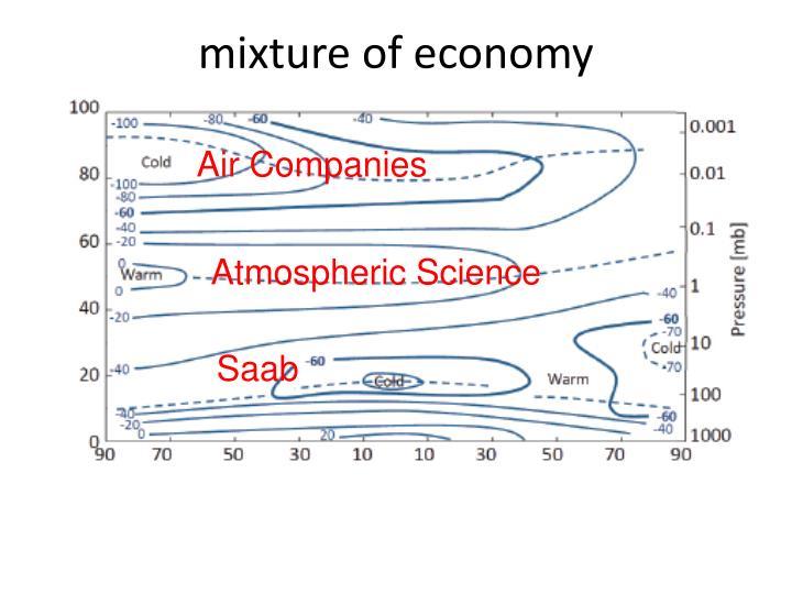 mixture of economy