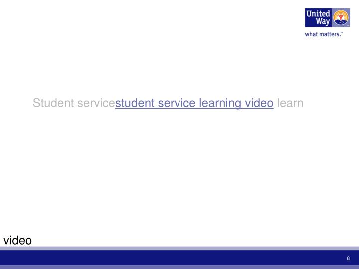 Student service