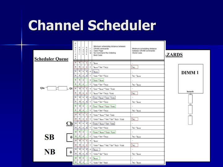 Channel Scheduler