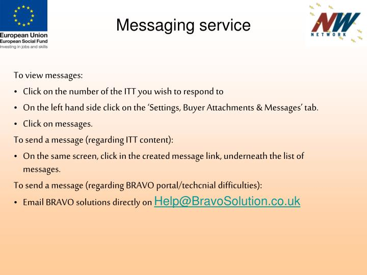 Messaging service