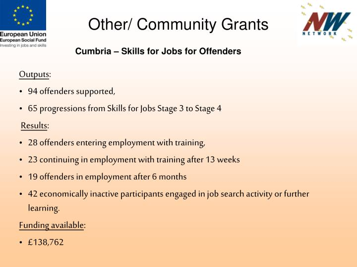 Other/ Community Grants