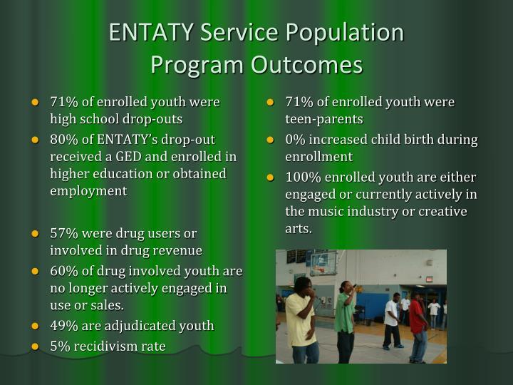 ENTATY Service Population