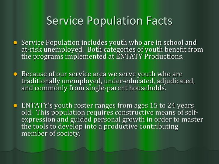 Service Population Facts