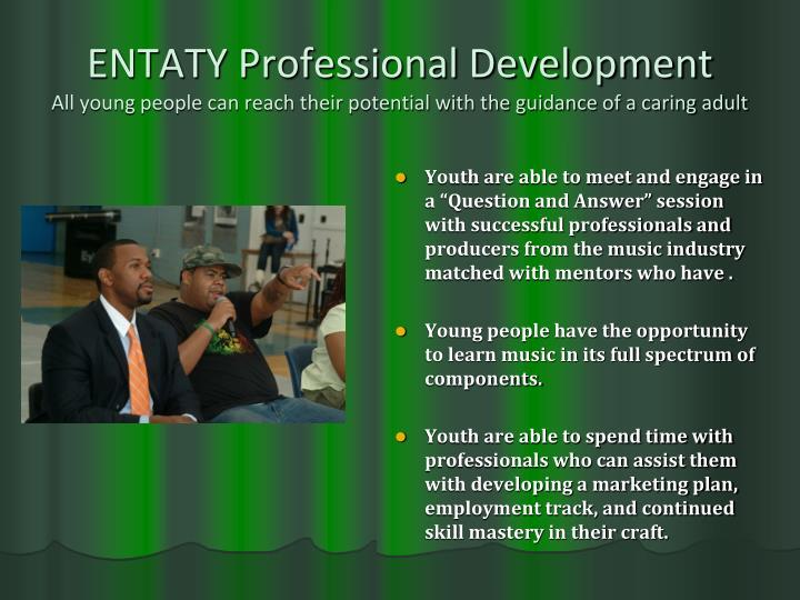ENTATY Professional Development