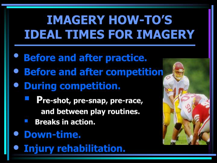 IMAGERY HOW-TO'S