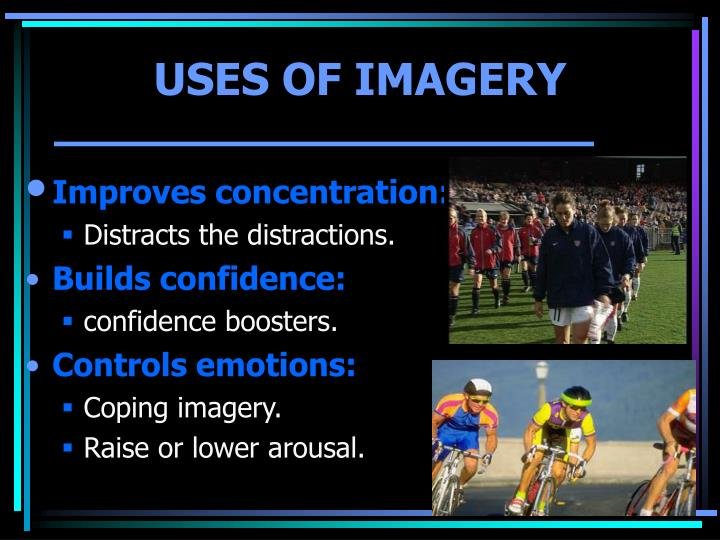 USES OF IMAGERY
