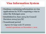 visa information system1