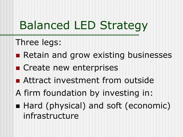 Balanced LED Strategy