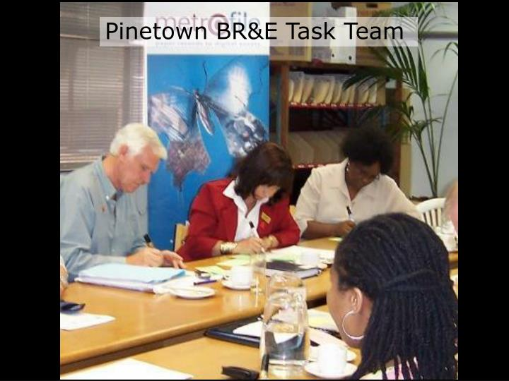 Pinetown BR&E Task Team