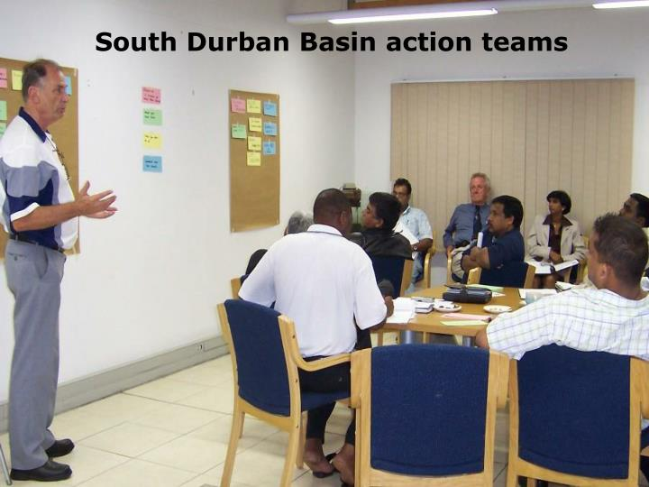 South Durban Basin action teams
