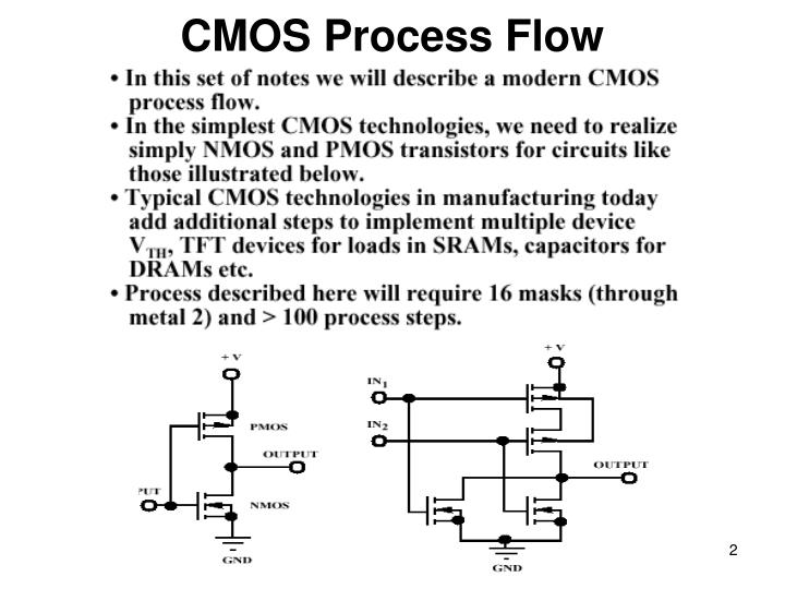 CMOS Process Flow