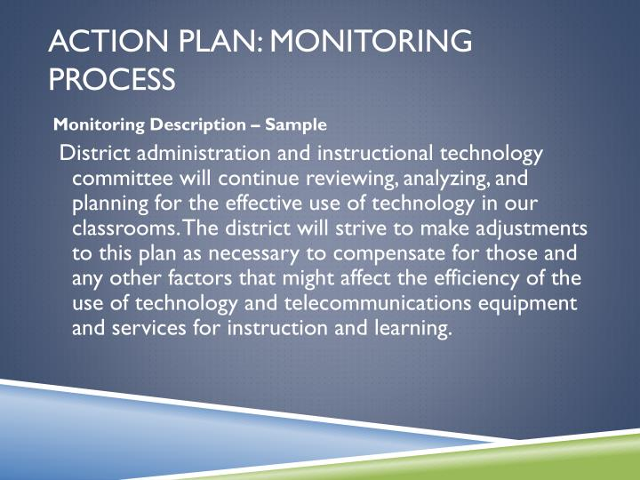 Action Plan: Monitoring Process