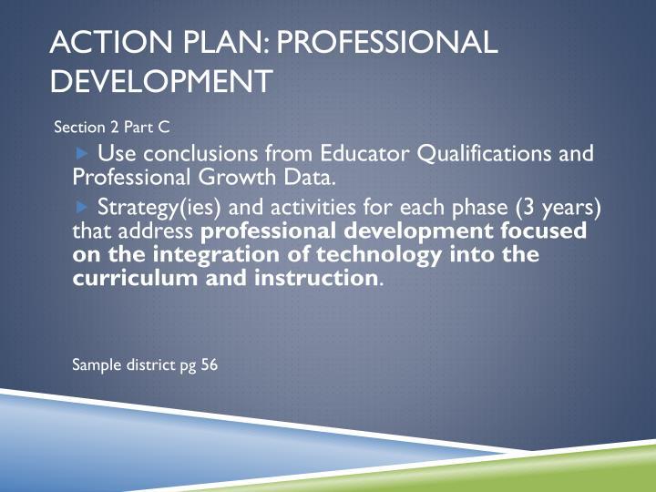 Action Plan: Professional Development