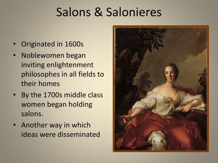 Salons & Salonieres