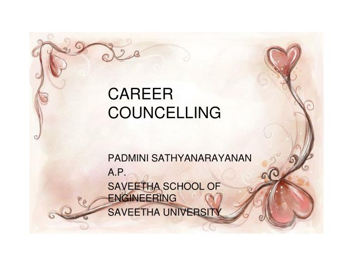 career councelling