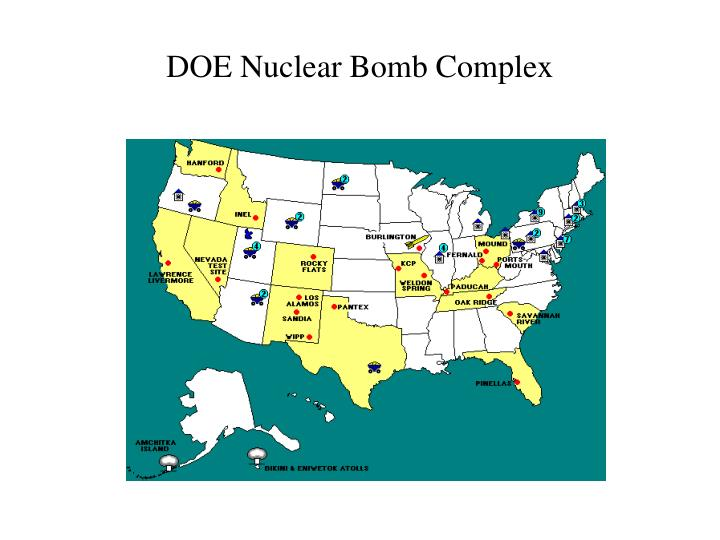 DOE Nuclear Bomb Complex