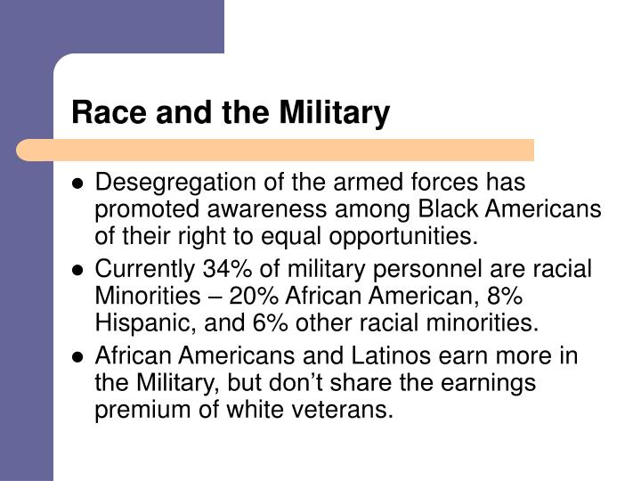 Race and the Military