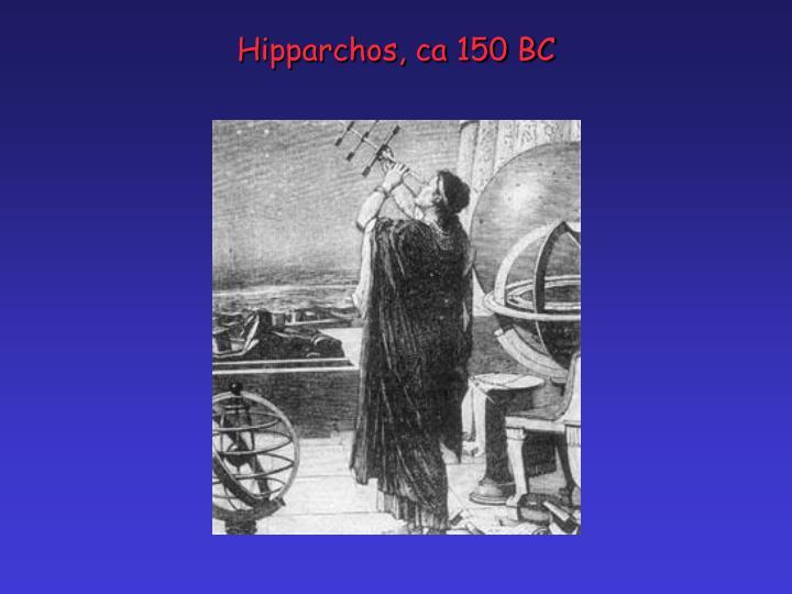 Hipparchos, ca 150 BC