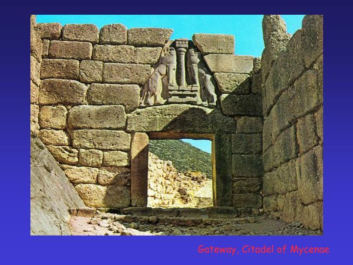 Gateway, Citadel of Mycenae