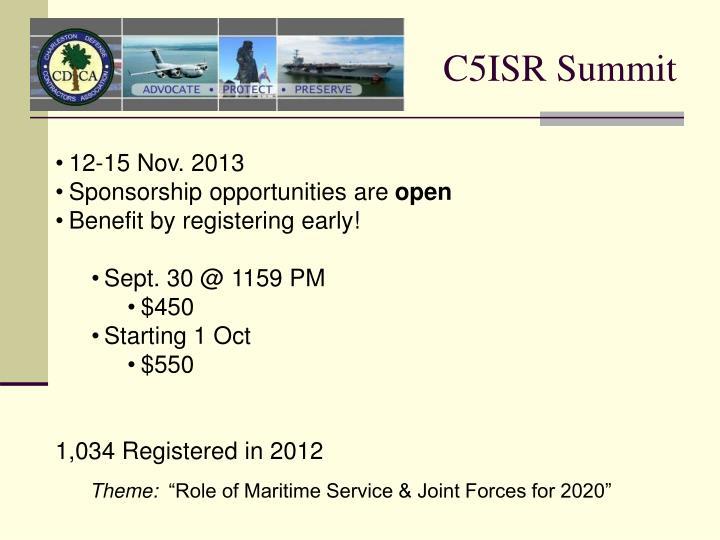 C5ISR Summit