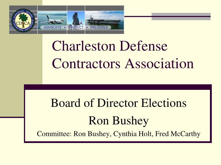 Charleston Defense Contractors Association