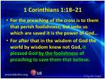 1 corinthians 1 18 21