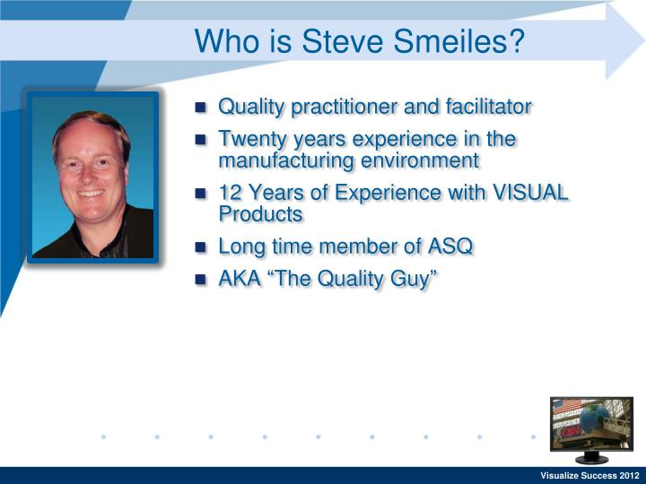 Who is steve smeiles
