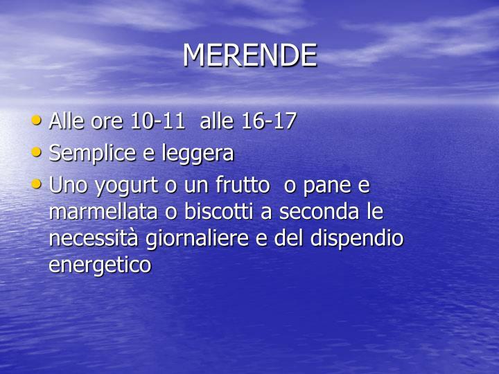 MERENDE