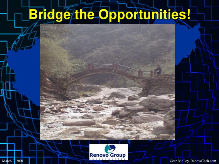 Bridge the Opportunities!