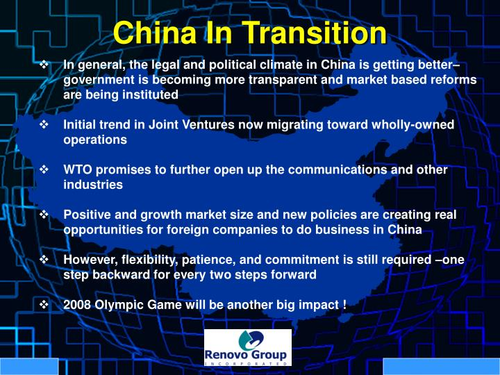 China In Transition