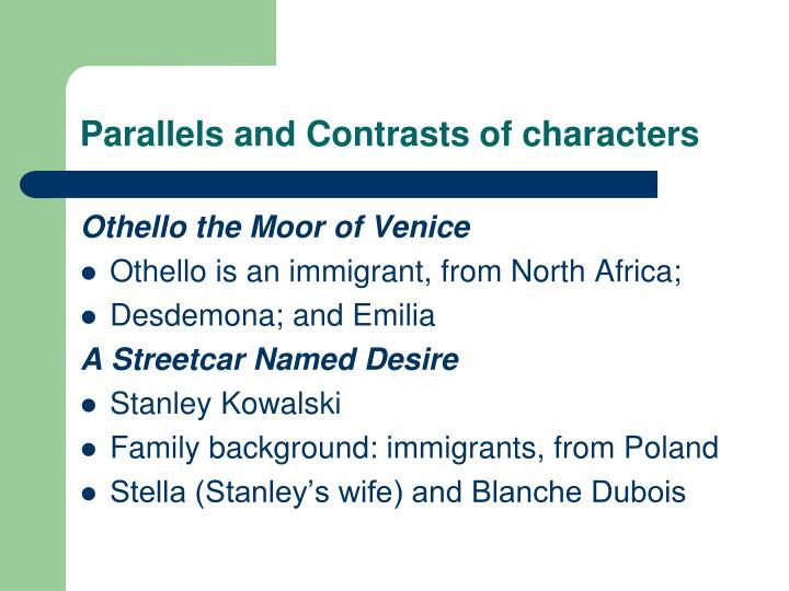 othello vs streetcar named desire