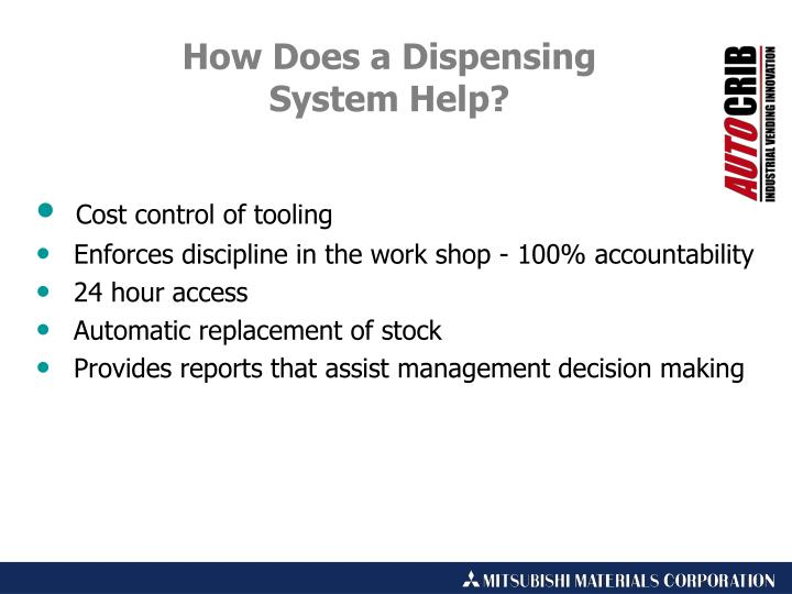 Cost control of tooling