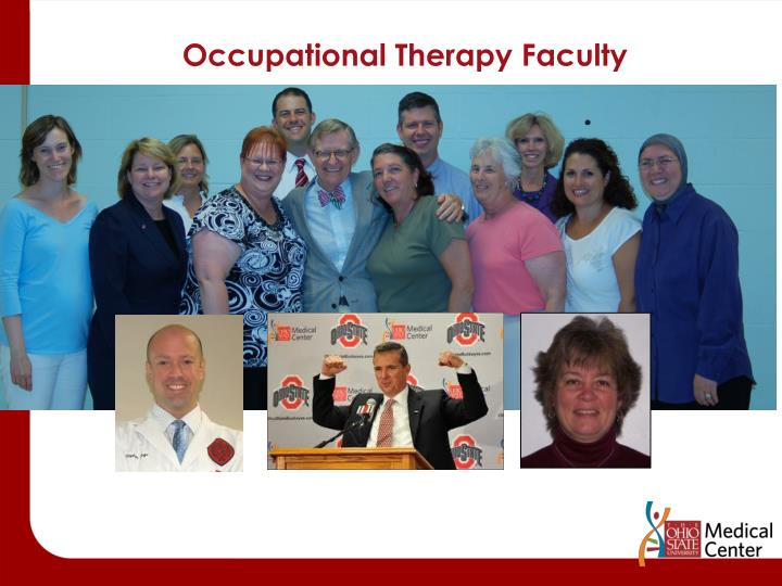 Occupational Therapy Faculty