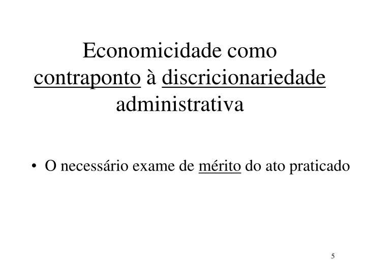 Economicidade como