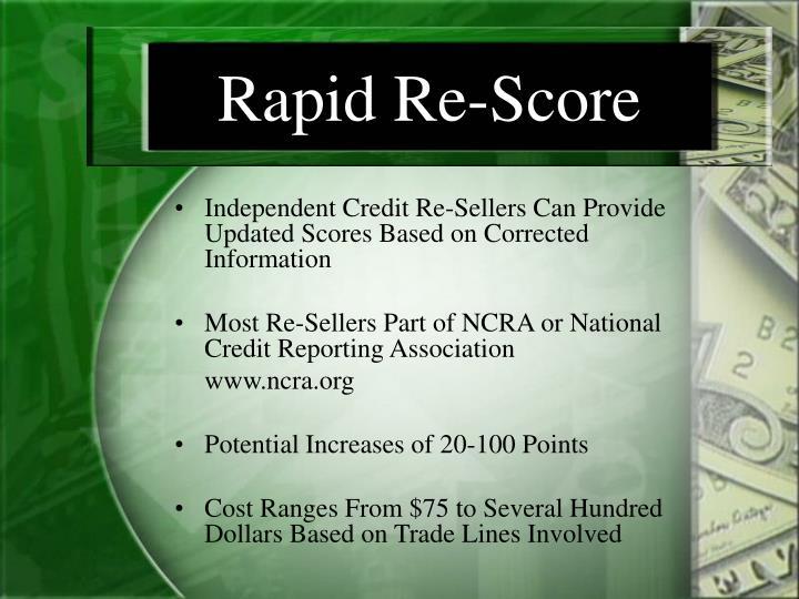 Rapid Re-Score