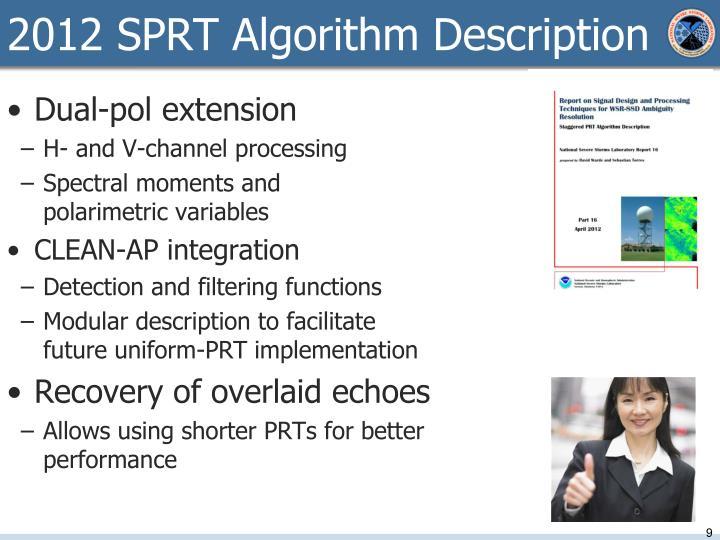 2012 SPRT Algorithm Description