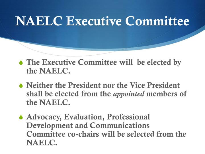 NAELC Executive Committee