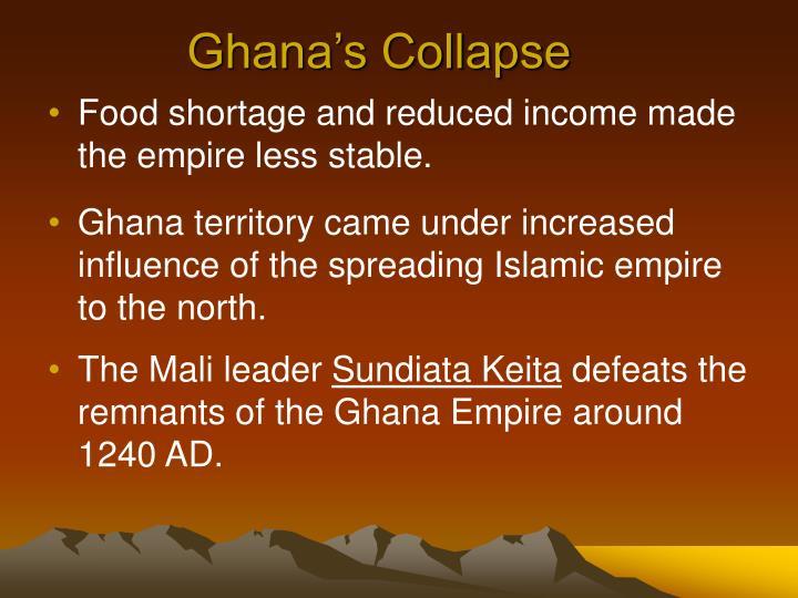 Ghana's Collapse