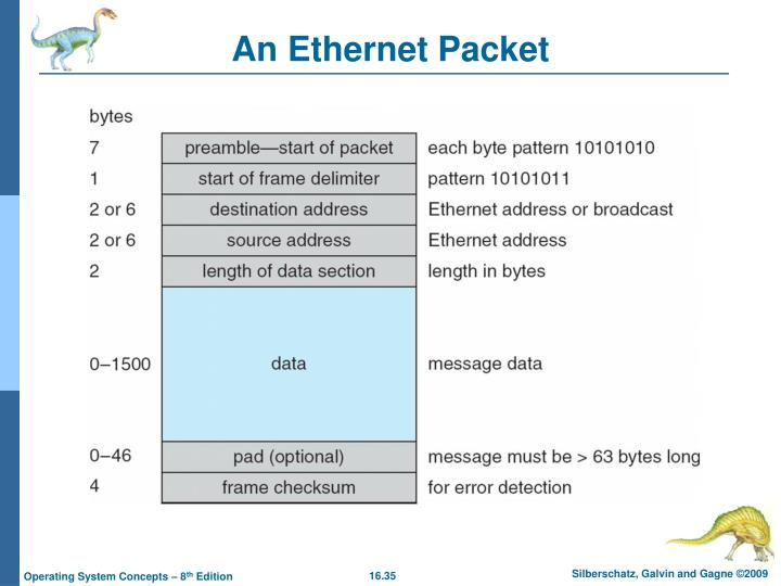 An Ethernet Packet