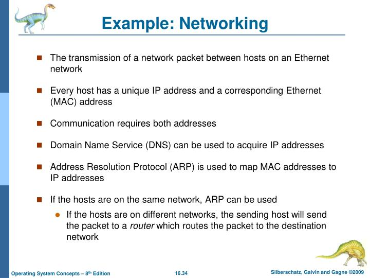 Example: Networking