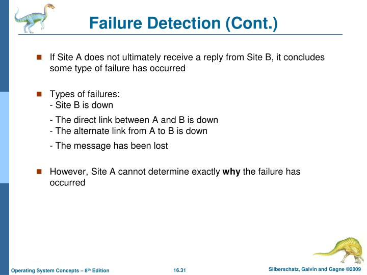Failure Detection (Cont.)