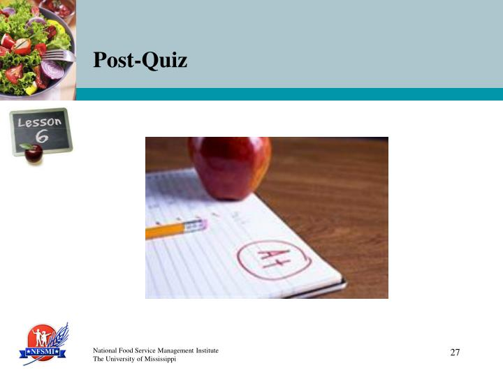 Post-Quiz
