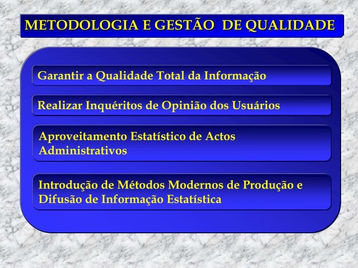 Garantir a Qualidade Total da Informação