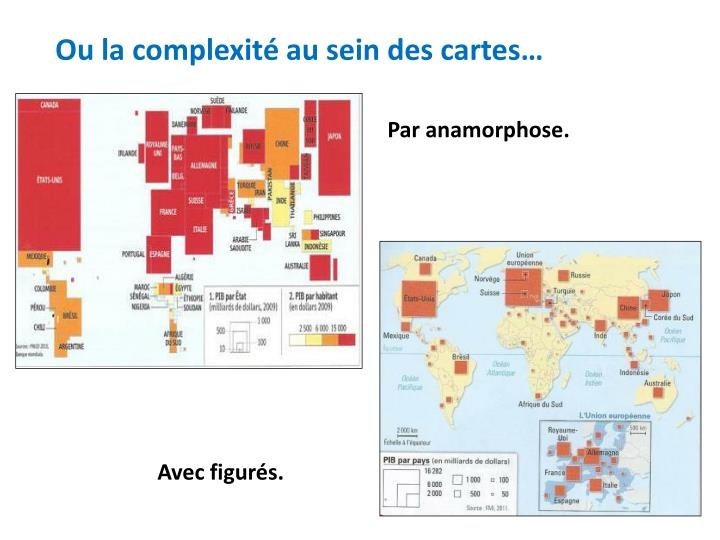 Ou la complexité au sein des cartes…