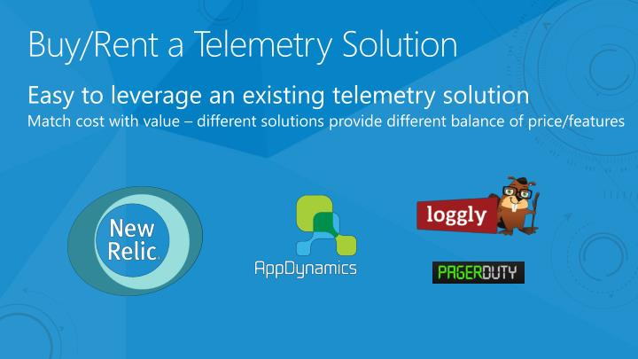 Buy/Rent a Telemetry Solution