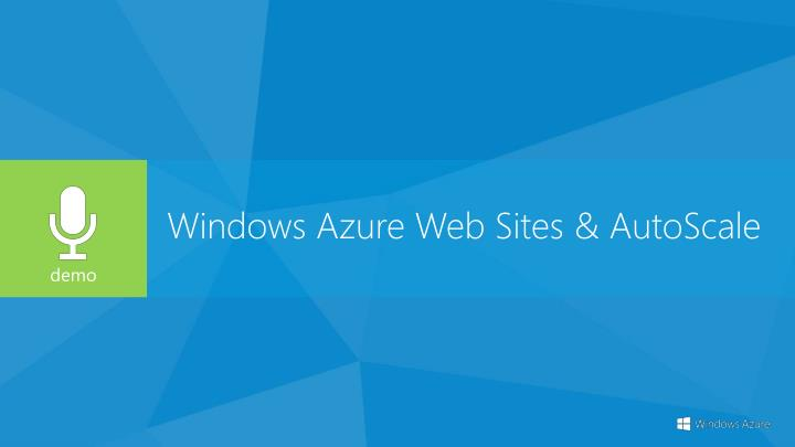 Windows Azure Web Sites &