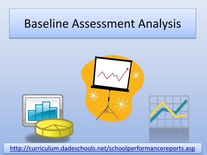 Baseline Assessment Analysis