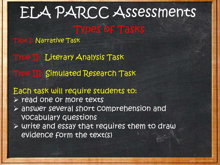 ELA PARCC Assessments