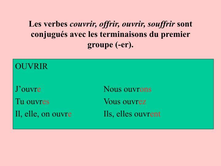 Les verbes